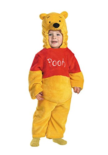 Deluxe Winnie The Pooh Toddler Costume - Toddler Small