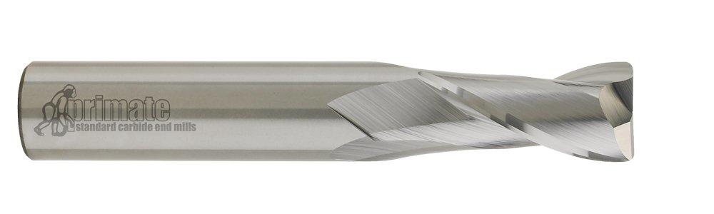 CGC Tools CEM14R2060 Primate Radiused Corner End Mill, 2 Flute, 1/4'' Diameter, 3/4'' LOC, 2-1/2'' OAL, 0.060'' Radius by CGC Tools