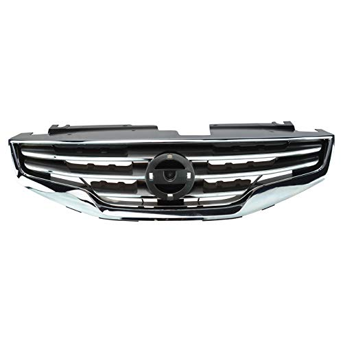 - Grille Assembly Black w/Chrome Front for Nissan Altima & Hybrid