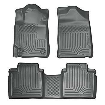 Image of Cargo Liners Husky Liners Fits 2007-11 Toyota Camry Weatherbeater Front & 2nd Seat Floor Mats