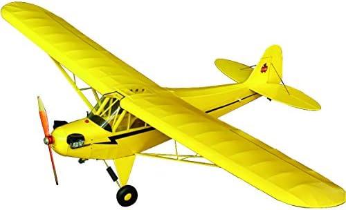 スタジオミド 1/16 バルフライヤーシリーズ パイパー J3 カブ ゴム動力模型飛行機キット BF-005