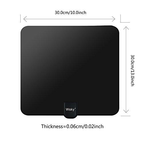 Wsky 1080P Digital HDTV Antenna ...