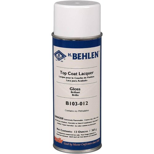 Behlen H3936 Top Coat Lacquer - Gloss