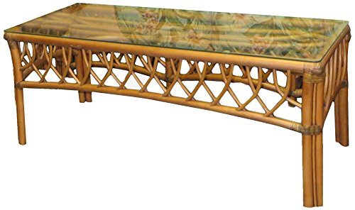 Spice Islands Montego Bay Coffee Table, Cinnamon