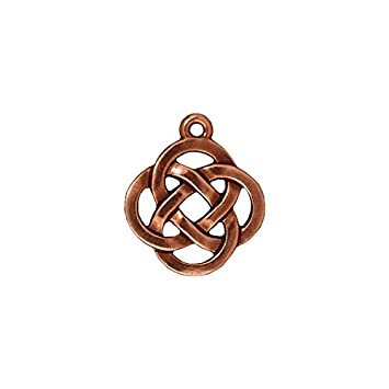 Amazon tierracast celtic pendant 18mm antiqued copper tierracast celtic pendant 18mm antiqued copper plated pewter 3 pack by tierracast mozeypictures Gallery