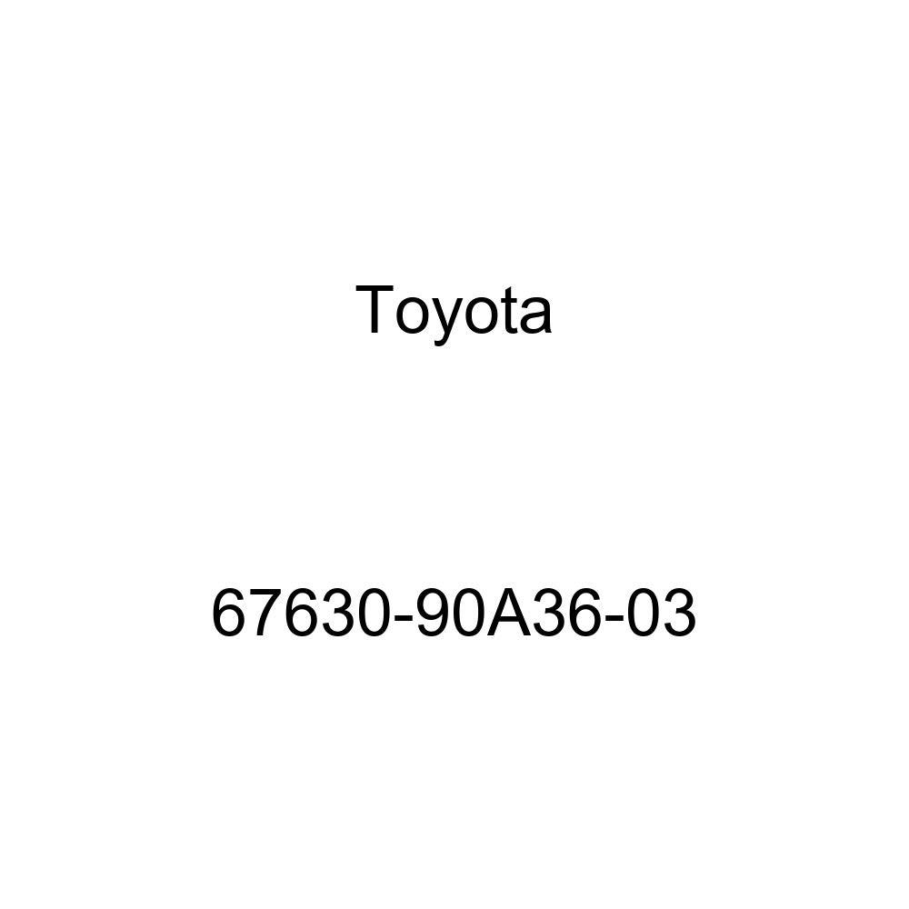 Genuine Toyota 67630-90A36-03 Door Trim Board