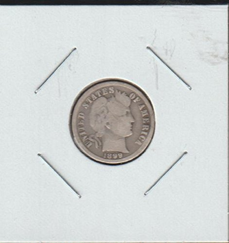 1899 Barber or Liberty Head (1892-1916) Dime Very Good