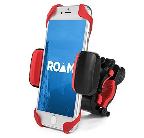 Roam Universal Premium Bike Phone Mount for Motorcycle - Bike Handlebars, Adjustable, Fits iPhone 6s   6s Plus,