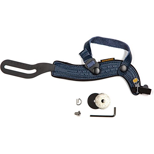 SpiderHolster SpiderPro Hand Strap for DSLR with Attached Lens, Dark Blue by Spider Camera Holster