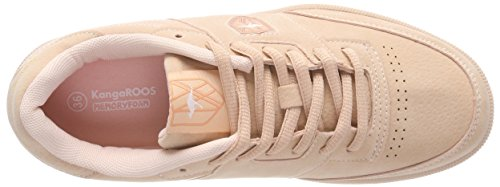 Kangaroos Unisex Adults' Retro Cup Trainers Red (Dusty Rose 6058) low cost cheap online 1WlZwh7zT