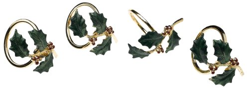 Lenox Holiday Napkin Rings, Set of 4 ()
