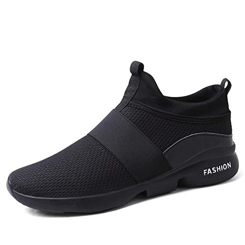 UTENAG Mens Sports Running Shoes Indoor and Outdoor Walking Lace-up Mesh Casual Fashion Sneakers