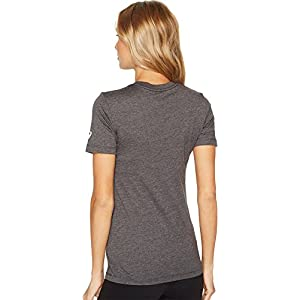 ASICS Women's NYC Liberty Tee Dark Grey Heather X-Small