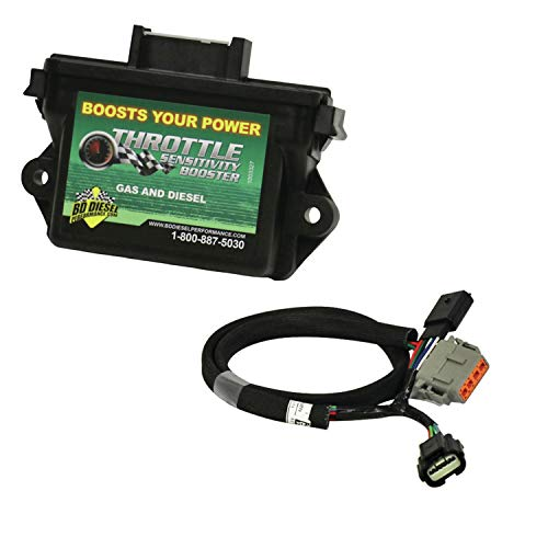 - BD Diesel 1057732 Throttle Sensitivity Booster