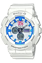 Casio BA-120-7BER - Women's Watch, Resin, White Tone