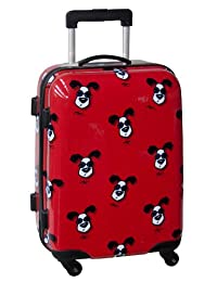 Ed Heck Looking Cool Hardside 21-Inch 4-Spinner Carry-on Luggage, Red