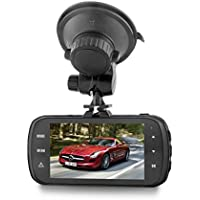 Gentman Dash Cam HD 1440P 3.0 inch LCD 170°Wide Angle Dashboard Camera DAB205 Car Video Recorder with G-sensor HDR ADAS Loop Recording