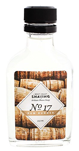 West Coast Shaving #17 Rum Runner Aftershave Cologne