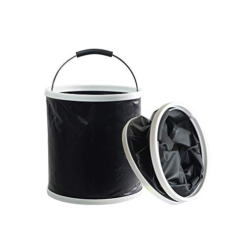 GLOYY Car Wash Bucket Collapsible Camping Fishing Bucket Multi-Functional Car Washing Equipment Cleaning Outdoor