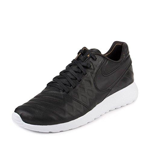 Nike Roshe Tiempo VI QS Men's Shoes Black/Black/Metallic Gold/White 853535-007 (11 D(M) US)