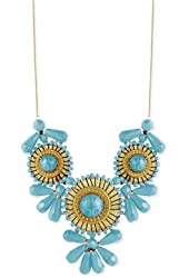 Zad Women's Medallion Bib Necklace