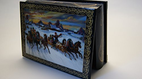 beautiful-wooden-lacquer-box-for-storage-a-trio-of-horses