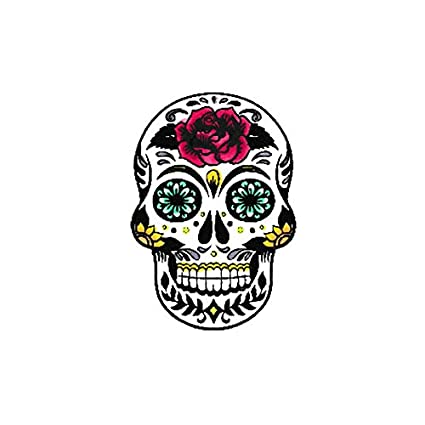 Amazon Scrapbook Customs Sugar Skull Rubber Stamp Arts Crafts