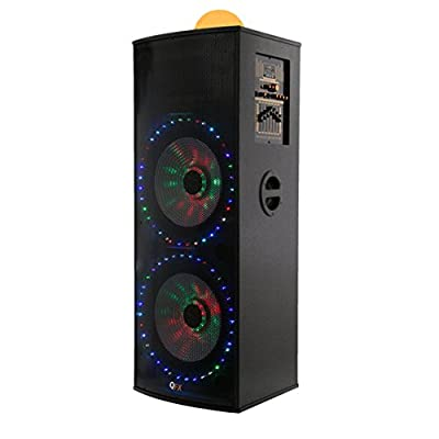 QFX Hi-Fi Tower Speaker with Built-in Amplifier Consumer Electronics