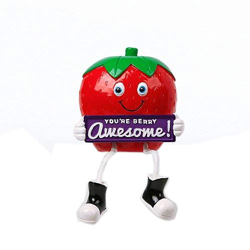 - Fruit Shelfee - Strawberry: You are Berry Awesome - Office Desk Decoration - Employee Recognition Award - Employee Appreciation Gift