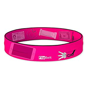 "Level Terrain FlipBelt Waist Pouch, Hot Pink, Large/32""-35"""