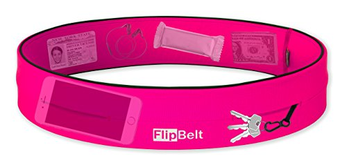 "Level Terrain FlipBelt Waist Pouch, Hot Pink, X Large/35"" 38"""