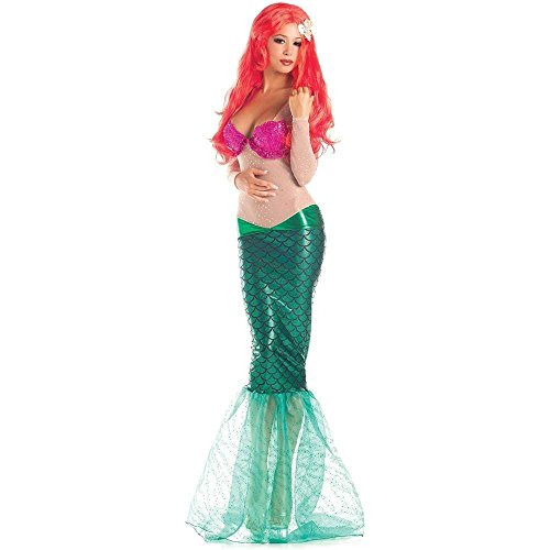 Party King Adult Sweet Mermaid Costume - S