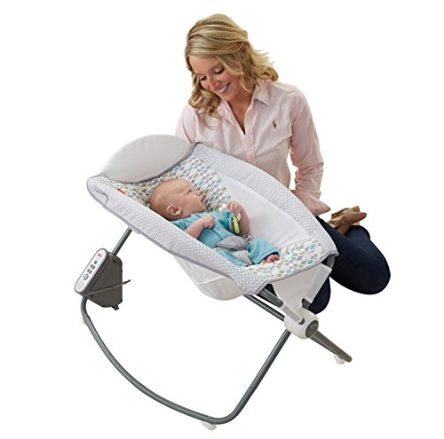 Amazon Fisher Price Moonlight Meadow Cradle N Swing