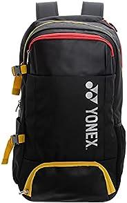 YONEX 82012L (Black/Yellow) Active Backpack Large Badminton Tennis Racket Bag
