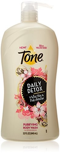 Tone Body Wash, Daily Detox, 32 Ounce