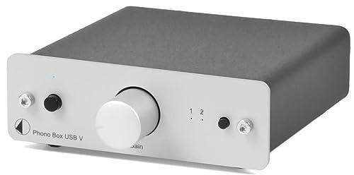 Pro-Ject Phono Box USB V Phono Pre-Amp Silver