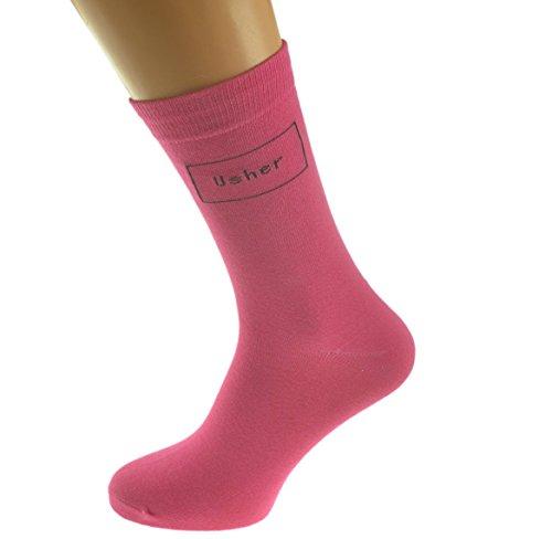 Fuscia Pink Colored Wedding Socks product image