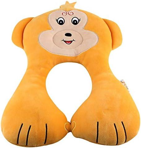 Decdeal U-Form Baby Nackenkissen Kopf und Nackenstütze Baby-Reisekissen für Kinder im Alter von 1-6 Jahre AFFE