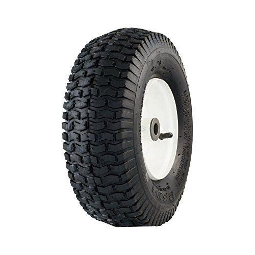 "Marathon 13x5.00-6"" Pneumatic (Air Filled) Tire on Wheel, 3"" Hub, 3/4 Bushings"