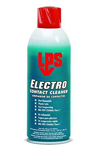 Electro Lps Cleaner Contact (LPS Electro Contact Cleaner, 14 oz Aerosol (Pack of 12))