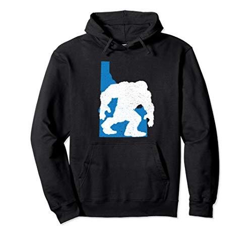 Sweatshirt Youth Hunter - Idaho State Bigfoot Sasquatch Yeti Hunter Gift Hoodie