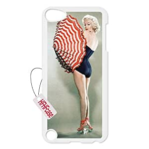 HFHFcase Customized Case for Ipod Touch5, Monroe weird Ipod Touch5 Cover Case
