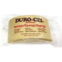 Durocel Turtleback Cellulose Sponge, Heavy Duty, 7.5 by 3.75 by 2.25-Inch