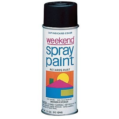 Weekend Spray Paint (Krylon I00357 11-Oz. Gloss White Weekend Spray Paint Inter, 11 Oz (Pack of 6))