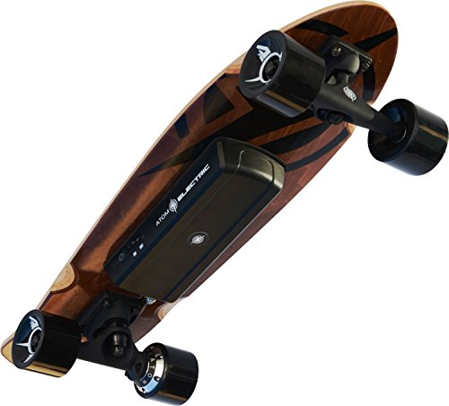 Atom Longboards Atom Electric H.4 Skateboard  400W Hub Motor  55Wh LiIon Battery  Buy Online