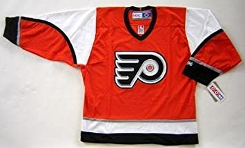 newest 52c6d dbf16 NHL Philadelphia Flyers Blank Cycling Jersey Orange S (Small ...