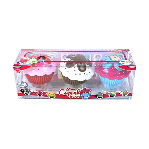 cfe6895265f7 Cupcake Surprise Scented Princess Doll Mini 3-Pack (Color   Style May Vary)