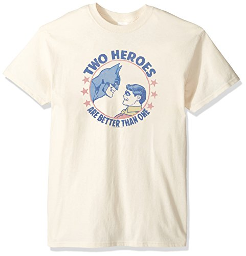 Trevco Men's Dc Batman and Robin Two Heroes Adult T-Shirt at Gotham City Store