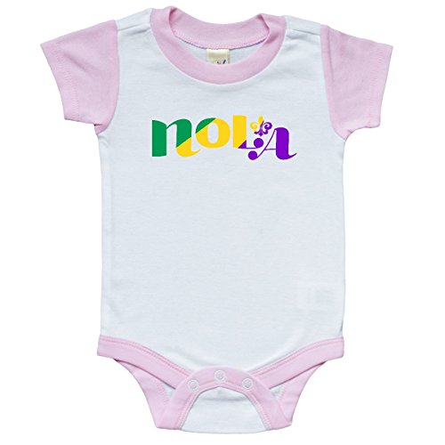 inktastic New Orleans, Louisiana Infant Creeper 6 Months White and -