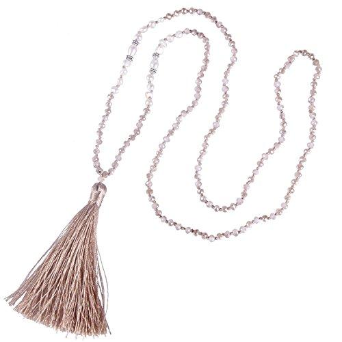 KELITCH Natural Necklace Handmade Pendants